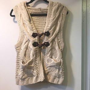 Free People Sweater Vest K2
